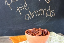 Holidays with Almonds - cooking & crafts