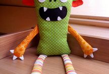 Monster Dolls / by Becky Cahal Stephens