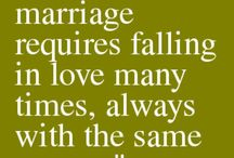 20 words / Being married for 21 years.