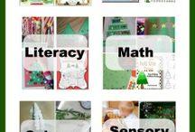 December Preschool Theme / December Preschool Theme