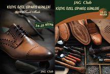 """Kişiye Özel Sipariş Günleri Başladı!! / """"Jag Club"""" Kişiye Özel Sipariş Günleri Ankara'da Başlıyor. Size özel siparişlerin şıklığını yaşamak için 24-25 Nisanda Geodizayn Mağazacılık Turan Güneş Bulvarı No:132 Çankaya Adresinde sizleri bekliyoruz"""