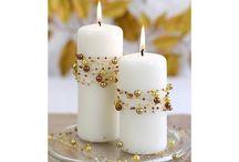 свечи, очаги