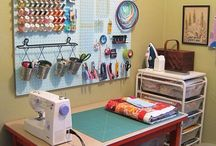 Sewing & Craft space idea