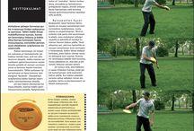 Frisbeegolf-juttuja