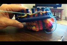 Loom Knitting / Loom Knitting projects