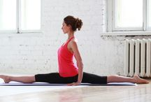 Gymnastics and yoga / Gymnastics and yoga poses that catch my interest