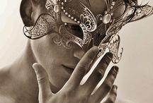 Masks on Model