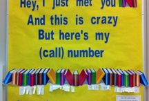 Library Bulletin Boards & Displays / by Sheri M.
