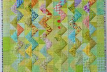 Quilt Projects by Maryline Collioud-Robert / quilt, quilting, patchwork, sewing, fabrics, quilt patterns, studio, how to, DIY, art, textile, fiber, color, inspiration, technique, machine quilting, hand quilting, string quilt, log cabin, appliqué, reverse appliqué, piecing, binding, instructions, quick, easy, baby, wall quilts
