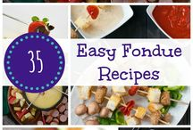 Fondue Recipes / by Mary Caton
