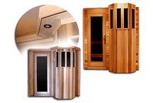 Saunas / Saviez-vous que l'air chaud dilate les pores de la peau, purifie l'organisme et élimine les résidus du métabolisme? #santé #zen #sauna  Tous les modèles de saunas sur notre site : http://www.piscinesperrin.com/sauna.htm