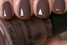 Brown, Nude & Neutral polish collection