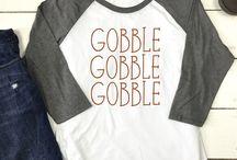 Thanksgiving/Fall T-Shirt Ideas