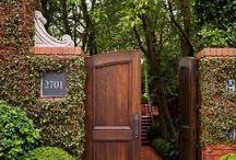 Πόρτες κήπου