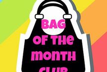 Bag of the Month Club! / Bags made from Bag of the Month Club Patterns!