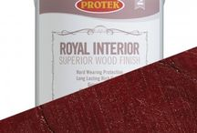 Protek Royal Interior Finish / Royal Interior is a high-grade water-repelling timber treatment that contains a mould inhibitor to protect the coating. It is perfect for use on all softwood and hardwood products such as windows, doors, summerhouses, gates, cladding and garden furniture. Royal Interior wood finish is low in odour and with low volatile organic compounds. The unique formulation is a water-based acrylic and alkyd hybrid that incorporates a polyurethane dispersion based on linseed oil - a renewable resource.