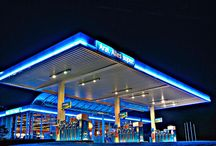 Japanese petrol station render - Mood Board