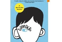 DENbrarian May 2013 : Wonder by R.J. Palacio / August Pullman was born with a facial deformity that, up until now, has prevented him from going to a mainstream school. Starting 5th grade at Beecher Prep, he wants nothing more than to be treated as an ordinary kid—but his new classmates can't get past Auggie's extraordinary face. The story is a portrait of one community's struggle with empathy, compassion, and acceptance.   You will be changed forever by this book. / by Discovery Education