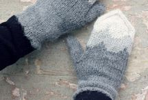 Knit hats & gloves