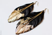 Leather Jewelry / Jewelry handcrafted using leather, laser cut leather jewelry