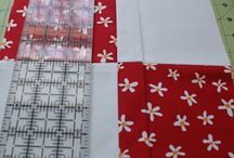 My quilt that I am making in sewing class