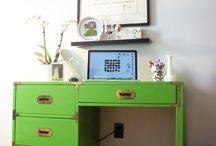 Campaign Desks and Dressers