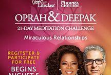 Deepak Chopra / by Shilpa Patel