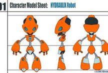 Model sheet robot