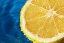 LE CITRON / Du citron dans l'assiete, boissons citronnées, en bonne santé grâce au citron, le citron beauté, une maison toute propre grâce au citron, les vertus minceur du citron, le citron de Menton, citrons et traditions.