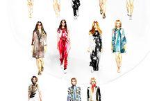 Fashion drawings / Fashion drawings