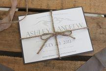 Four 13 Designs / Custom Wedding Invitations and Stationery