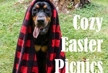 Pet Blankets / Dogs and cats love to snuggle up in these cozy blankets. Plus, they look great in your home!