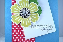 Handmade Cards- SU- Mixed Bunch & Blossom Punch