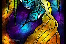 Stained glass / by Stefanie Jones