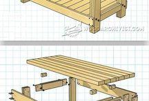 bbq bench