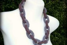 Jewelry - icord and French Knitting