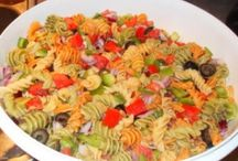 Salads / Salads are so versatile. They make a yummy appetizer, side or even main dish. Here are our favorite salads.  http://practicalsavings.net/category/in-the-kitchen/salads/