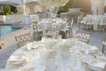 Gold and White Weddings
