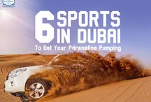 Adventure Seekers - Dubai Calling / If you think Dubai is just for shopping, think again. These 6 adventure sports in Dubai will get your adrenaline pumping!  Can you handle it? #ExploreFourCorners
