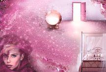 KOLORY NASTROJÓW - TAJEMNICZOŚĆ / Finezyjne, otulone czarem fioletów i wypełnione romantycznym nastrojem wnętrza pobudza wyobraźnię. Jak za sprawą magicznego pyłu i przenoszą myśli na rozległe, okryte wonią tajemniczości sierpniowe wrzosowiska.