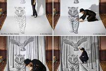 dessins 3d animaux