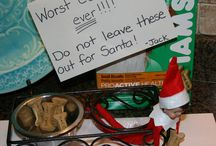 Elf on the Shelf / I actually hate elf on the shelf it's super duper creepy but some people do amazing things with him and I can't help but get a chuckle.