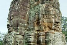 Cambodia / South-East Asia was under Indian influence starting around 200 B.C., till around the 15th century. India's had trade, cultural and political relations with Burma, Thailand (Siam), Indonesia, Malaya or Peninsula Malaya (West Malaysian today or Peninsula Malaysia) and Cambodia
