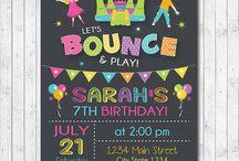 Ninja Bounce Party