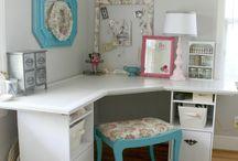 Craft Room Ideas / by Debbie Clark
