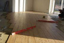 Podłoga salon