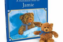 A Hanukkah Bear for Me / Personalize your child's Hanukkah with this personalized book!