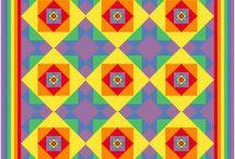 Borduur quilts