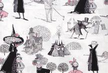Fun fabrics / by Tiffany Baldwin
