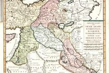 Antique and old maps / Antique and old maps of The Middle East,Africa,Asia and Eastern Europe.And maps made by Islamic discoverers and travelers.